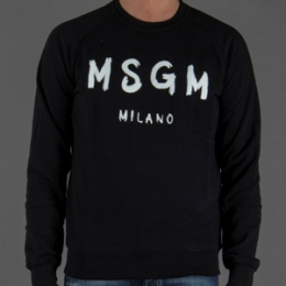 [MSGM]Milano Sweater Black
