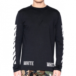 [Off White] 15FW Logo T-shirt OMAB001F15001016 1001