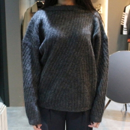[ACNE] 15fw WOOL BRAND SWEATER 19E153 W30