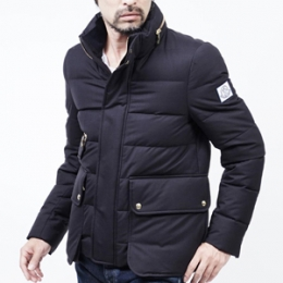 [Moncler] 15fw GAMMABLUE WOOL DOWNJUMPER NAVY 4135903 63337 778