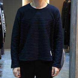 [Thom Browne] 16fw Engineered Rope Stitch Long Sleeve MJS035C 00955 415