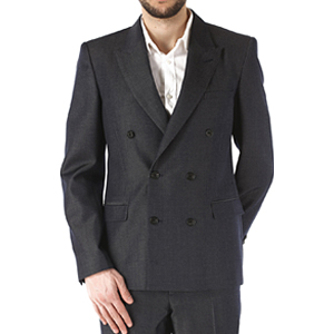 [Alexander Mcqueen] 17ss Double Breasted Jacket 449340 QIU36 4141