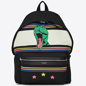 [Saint Laurent] 17ss Dinosaur Backpack 435988 GS91F 9081