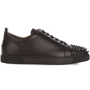 해외배송 [Christian Louboutin] 18ss Louis Junior Black Sneakers