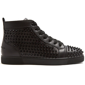 해외배송 [Christian Louboutin] 18ss Louis high-top spike sneakers