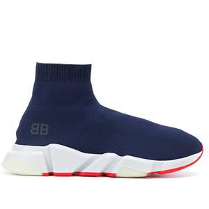 [Balenciaga] 18ss Speed Trainer Men Navy 506344 W05G0 4102