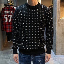 [Givenchy] 16fw Pull Over Dot Knit 16F7612529 001