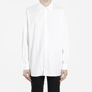 [Raf Simons] 18ss Substance Oversize White Cotton Shirt